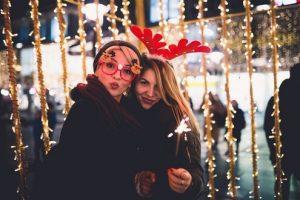 Kerst vriendin